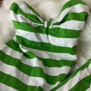 First Kiss Tankini Swim Suit Stripe #G1